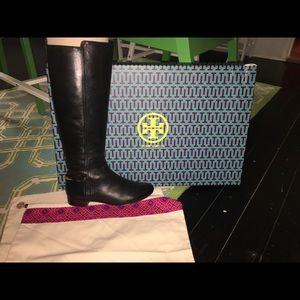 Jess Tory Burch Black Boots